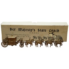 Britains 44D Her Majesty's State Coach 1761 King George III 1935 Rare Boxed