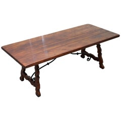 Solid Mahogany Theodore Alexander Refectory Trestle Dining Kitchen Table 10 Seat