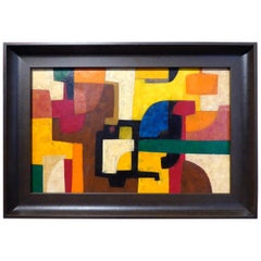"""Fancy"" an Original Acrylic on Canvas Painting by Italian Artist Roberto Miniati"