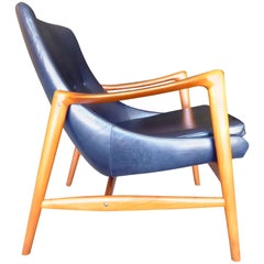 Norwegian Teak Wood Armchair by Adolf Relling & Rolf Rastad for Peter Wessel Ltd