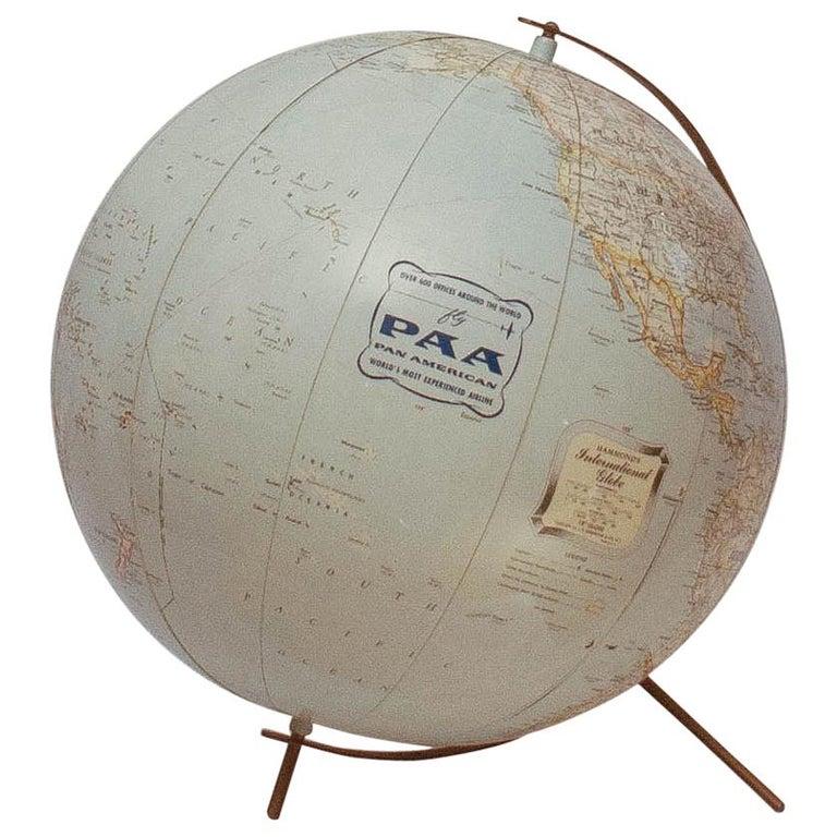 Iconic Pan Am Globe, circa 1950s