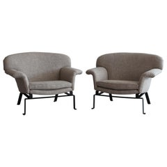 Wing Arm Italian Chairs