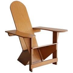 Original Adirondack Chair by Pierre Dariel for Poltrona, ca 1926