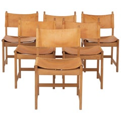 Set of Six Dining Chairs by Kurt Østervig