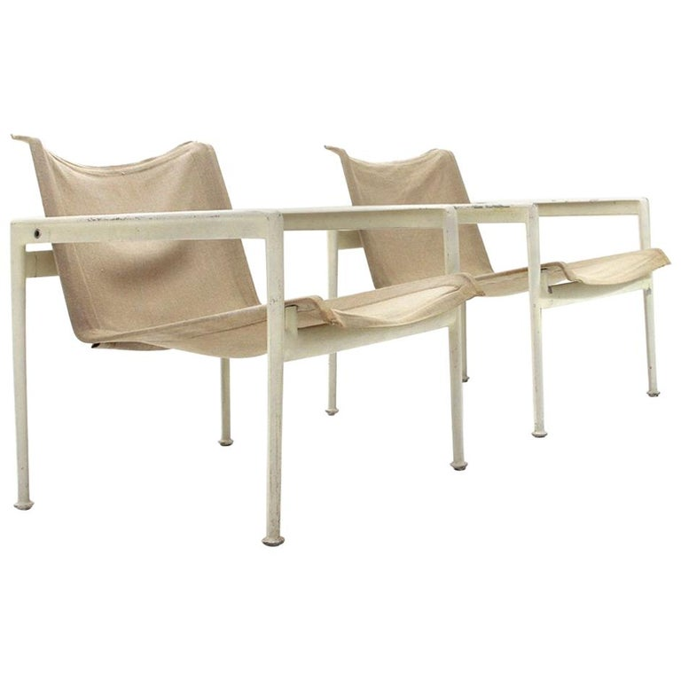 Set Of Four Richard Schultz Outdoor Lounge Chairs By Knoll