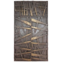 Morris Brose Modern Bronze Model Doors of Detroit Holocaust Memorial