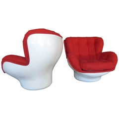 "Pair of ""Karate"" Chairs by Michel Cadestin for Airborne"