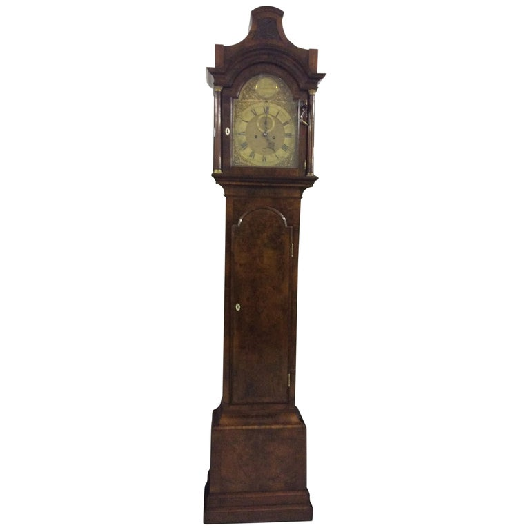 Walnut Longcase Clock 1760 London