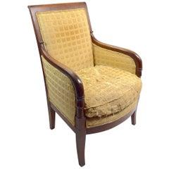 19th Century Empire Tub Chair