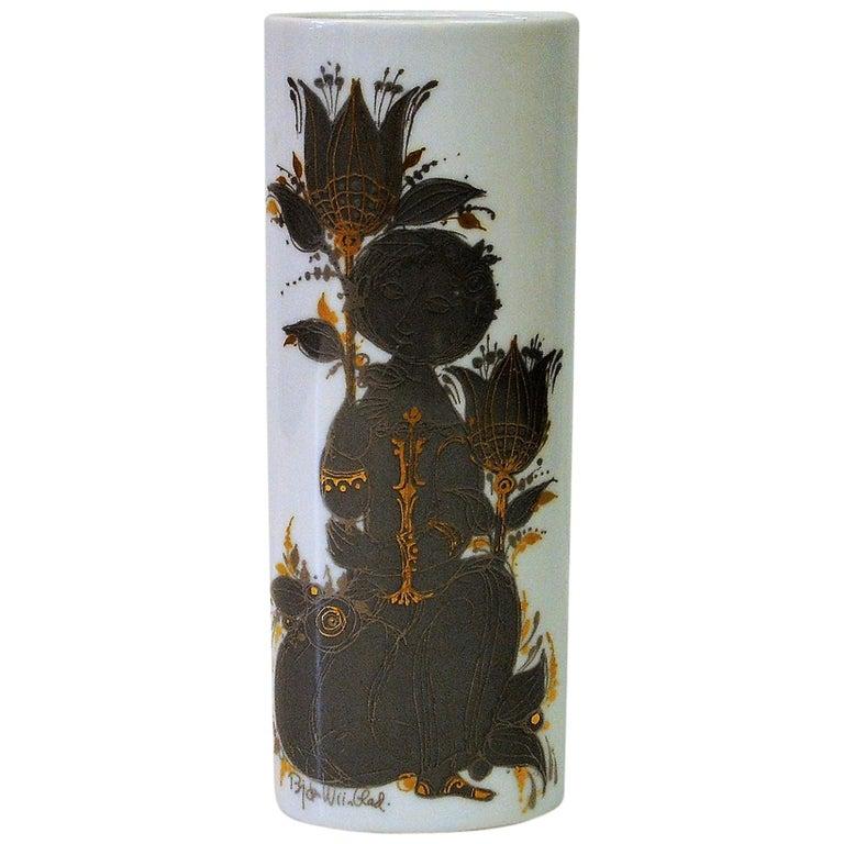 Flower Vase by Bjørn Wiinblad for Rosenthal Studio Line, 1960s