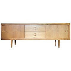 Danish Teak Sideboard by H.W Klein for Brahmin