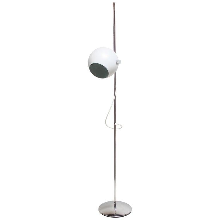 Italian Modern Adjustable Floor Lamp by Reggiani For Sale