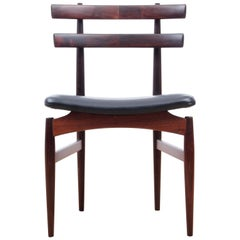 Mid-Century Modern Danish Set of Four Chairs in Rosewood by Poul Hundevad