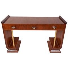 Mid-Century Modern Teak Console Table