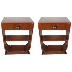 Pair of Mid-Century Modern Teak Side Tables