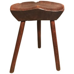 19th Century Danish Milking Stool
