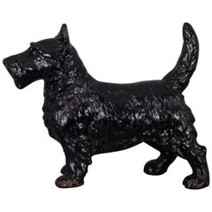 Early 20th Century Cast Iron Scotty Dog by Hubley, circa 1930s