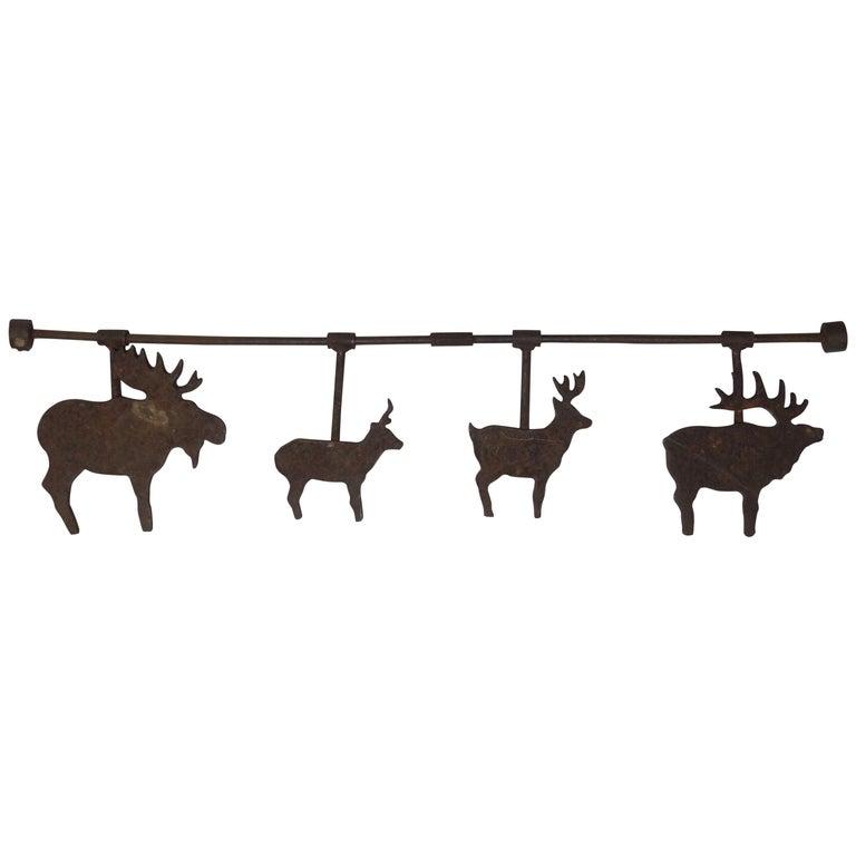 Carnival Shooting Gallery Target Deer Spinners