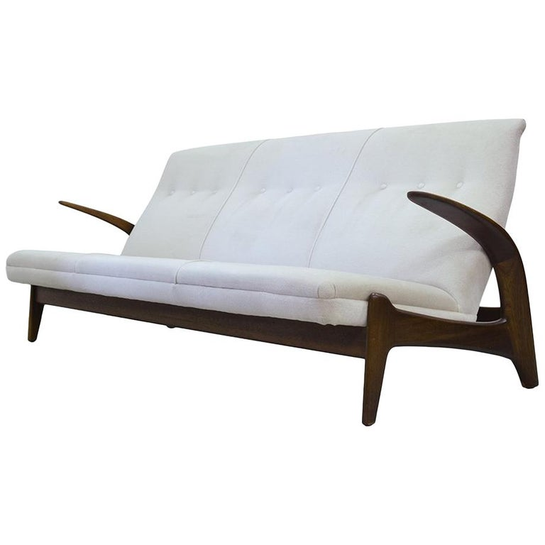 Teak sofa by Rastad & Adolf Relling for Arnestad Bruk, 1950s
