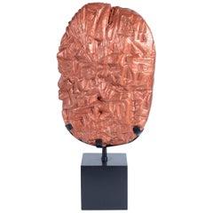 Marcello Fantoni Midcentury Italian Ceramic Abstract Sculpture 1970s Signed