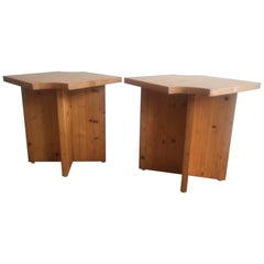Pair of 1970s French Side Tables