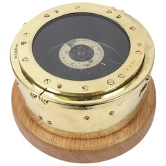 Ancient Aeronautical Compass for the RAF 1930s