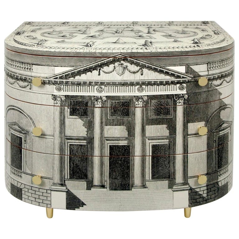 'Palladiana' Architectural Chest of Drawers by Fornasetti