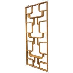 Midcentury Wall Room Divider Designed by Ludvik Volak for Drevopodnik Holesov