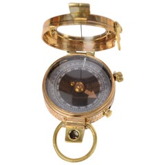 Prismatic Compass Made for the Indian Army in 1917