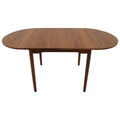 1960 Teak Extendable Dining Table