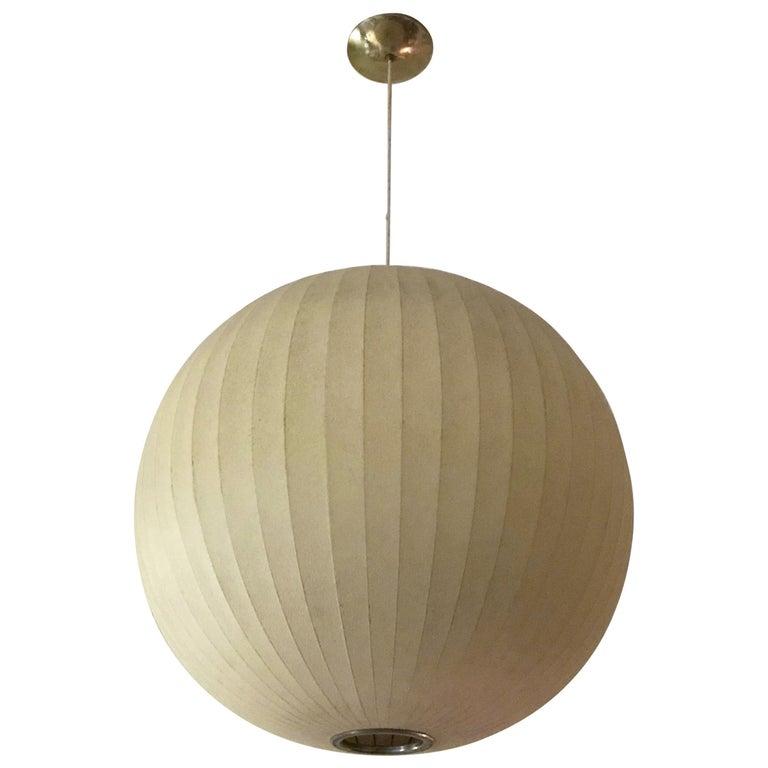 Large George Nelson Bubble Sphere Pendant Light