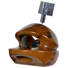 Pulcinelli Wood Table Lamp for Esperia