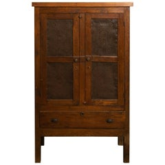 19th Century Oak Pie Safe