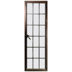 Tall Iron Frame Windows