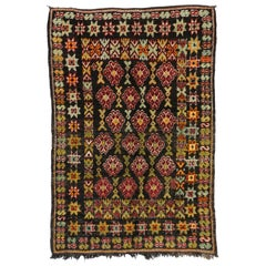 Vintage Berber Moroccan Rug with Tribal Style, Moroccan Berber Carpet