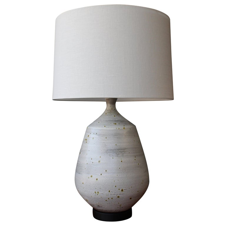 Large Ceramic Table Lamp, 1960s, USA
