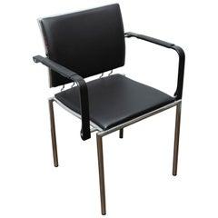 Dietiker Quadro-Steel Armchair