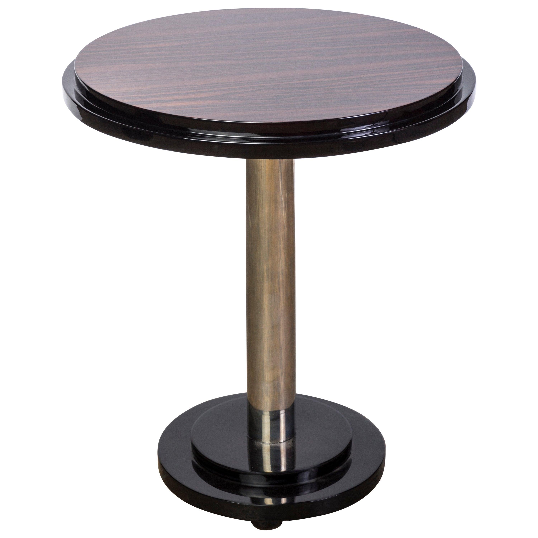 Beautiful Streamline Macassar Art Deco Occasional / Side Table