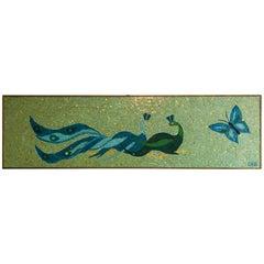 1960s Decorative Mosaic Wall Panel
