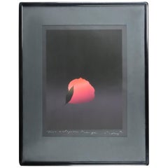 "Kozo Inoue ""Eclosion Rouge"" Serigraph, circa 1980"