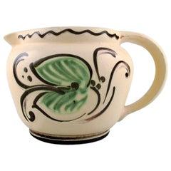 Kähler, Denmark, Glazed Stoneware Jug, 1920s-1930s