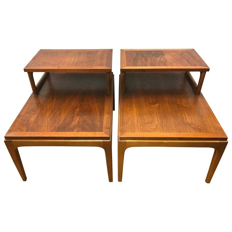 Pair of Midcentury Lane Altavista End Tables, Nightstands