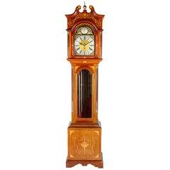 Sheraton Style Musical Long Case Clock