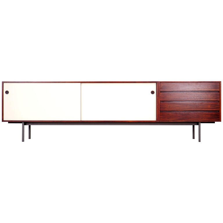 Spacious Sideboard by Walter Wirz for Wilhelm Renz, 1960s