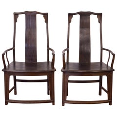Late 19th Century Pair of Chinese Chairs