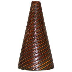 """Stig Lindberg """"Domino"""" Ceramic Vase for Gustavsberg"""