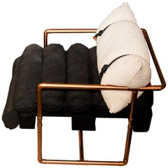 """Descartes"" Armchair Modernist Style"