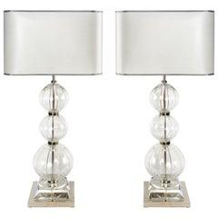 Atlante Table Lamp from La Collezione Attilio Amato Laudarte Sl, Pair Available