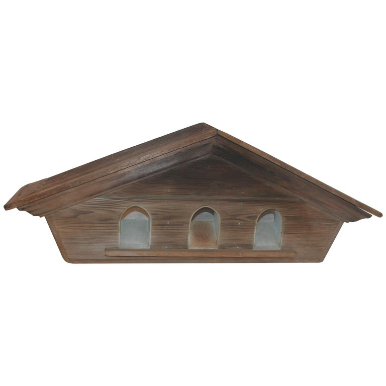Architectural Cupola with Martin Bird House within from a Barn For Sale