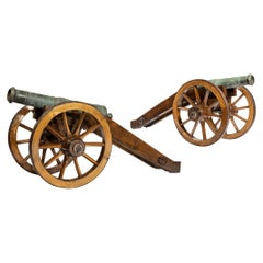Rare Pair of Early 18th Century Venetian Cannon